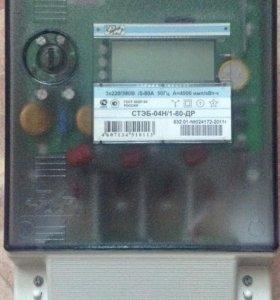 Электрический счётчик 3-ф РИМ на запчасти.