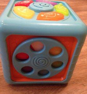 Кубик детский интерактивный