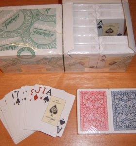 Карты игральные покерные Fournier 2818 пластик100%