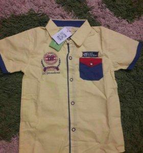 Рубашка на мальчика(новая)