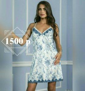 Новая Сорочка от Mia-Mia Blue Rose