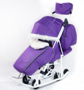 Санки-коляска Pikate Snowman (15)