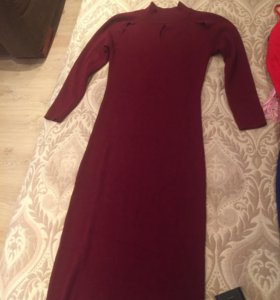 Тёплое платье 44-46