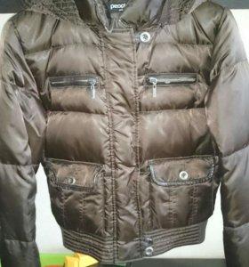 Куртка пуховик зимняя 44
