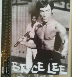Брюс Ли фотка 90-х