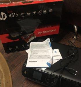 Новый принтер, МФУ Hp deskjet 4515