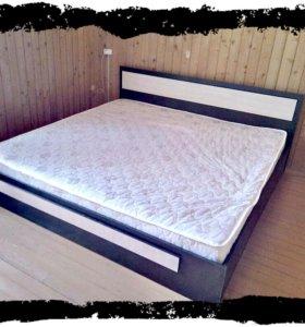 Кровать новая большая 2х2