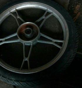 Заднее колесо Racer Alpha, литье