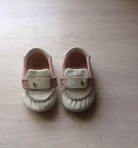 Детские ботиночки р19