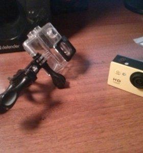 Экшн видеокамера SJCAM SJ4000 Yellow
