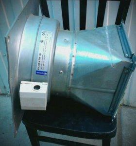 Канальный вентилятор + трубы 9м