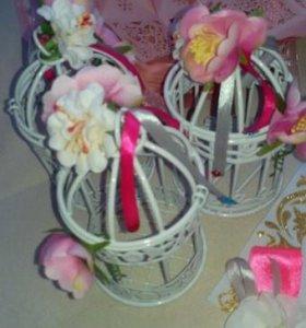 Свадебный букет и аксессуары
