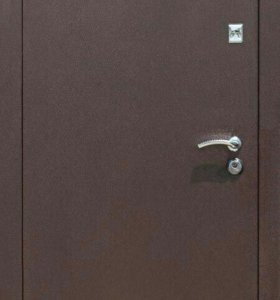 Дверь метал/метал Стройгост 7-2 гофра