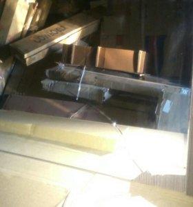 Зеркало-шкаф (встроенный светильник 2 шт Крокус 80