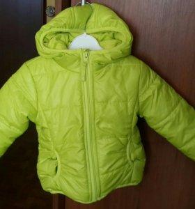 Куртка на ребенка р 74-80