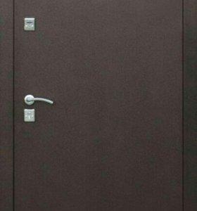 Дверь входная теплая Стройгост 7-2 мет/мет