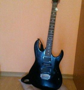 Эл.гитара ibanez grx170+ процессор zoom