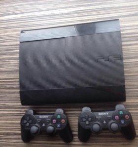 PlayStation 3 Super Slim 500 Гб + игры