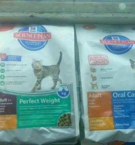 Корм для кошек Hils