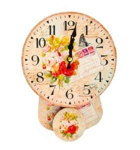 Новые настенные часы с маятником