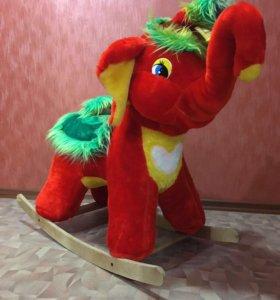 Новая Качалка Слон