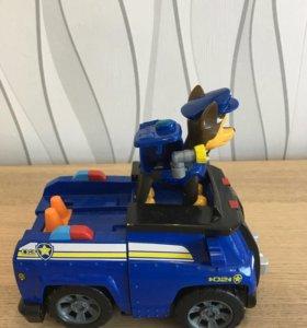 Щенячий патруль в сборе щенок и его машина