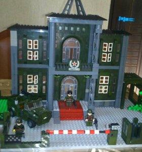 Лего военный штаб