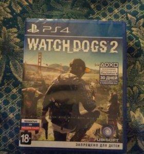 Продам Watch Dogs 2 для ps4 playstation4 (новая)