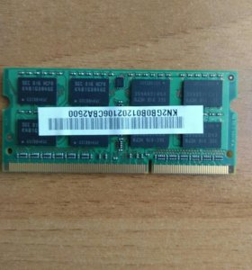 DDR 3 SO DIMM 4GB