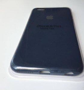Чехол Apple iPhone 6plus 6s Plus Темно-синий упако