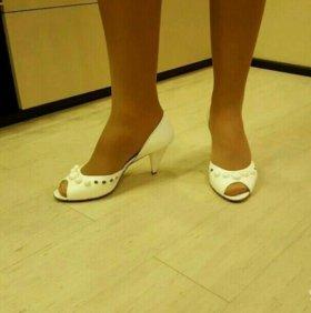Туфли белые Respect