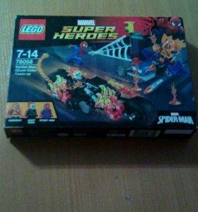 Лего человек паук союз с призрачным гонщиком