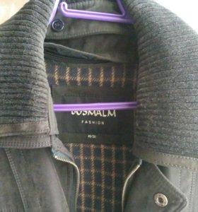 Замшевая куртка длинная