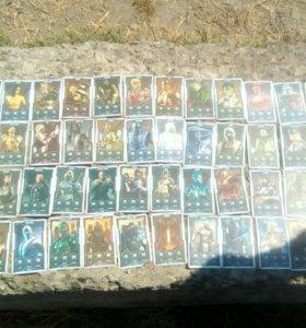 Карточки Mortal Kombat DRAXSUS 7 колеекция