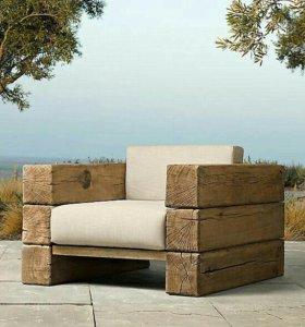 Мебель из бруса