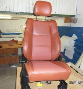 Перетяжка сидений авто