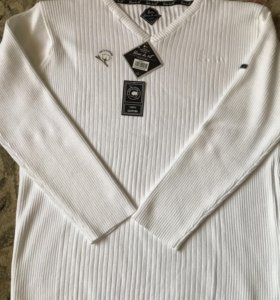 Пуловер Blanc du Nil, L, 100% cotton, новый, ориг.
