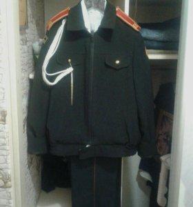 Новый кадетский костюм