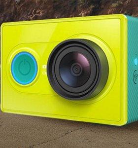 Новая экшн-камера Xiaomi Yi
