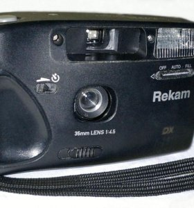 фотоаппарат REKAM F-201S плёночный