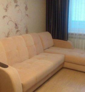 Мягкая мебельная группа:угловой диван и кресло