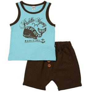 Комплект майка и шорты minimaxi