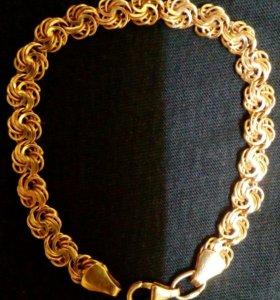 Золотой браслет. 585