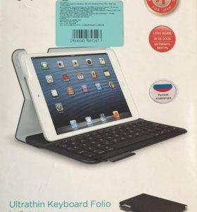 Клавиатура для iPad mini black от Logitech.
