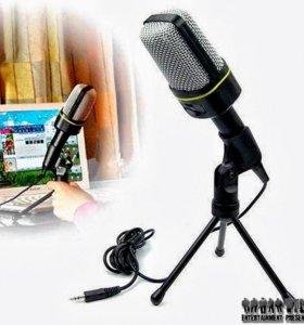 Конденсаторный микрофон № 1 + Звуковая карта