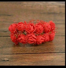 Цветы из фоамирана. Пучек