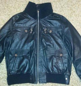 Куртка кожаная 48 размер