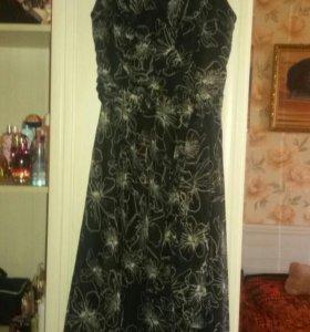 Платье шифон 46