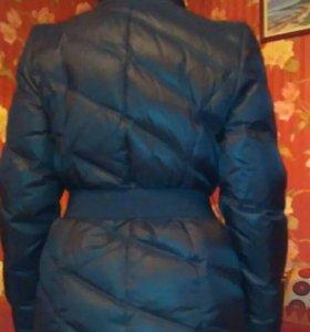 Куртка пуховик теплая зима осень весна