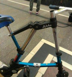 складной мини велосипед
